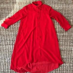 Small Red Armani Exchange dress